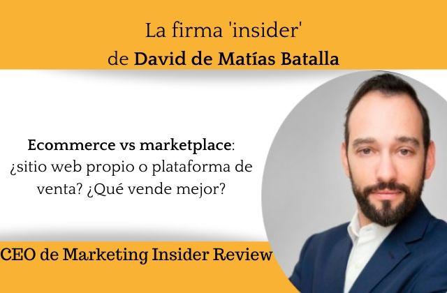 Ecommerce vs marketplace: Qué vende mejor