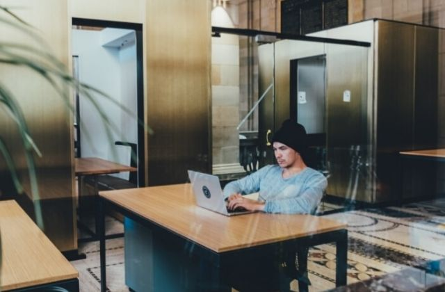 Los Work Café del Banco Santander