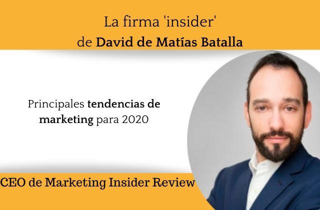 Principales tendencias de marketing para 2020