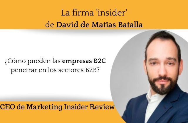 ¿Cómo pueden las empresas B2C penetrar en los sectores B2B_