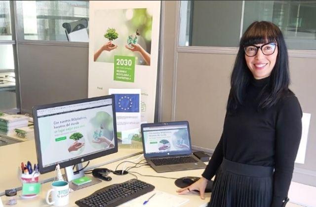 Lorena García, CMO de ADBioplastics