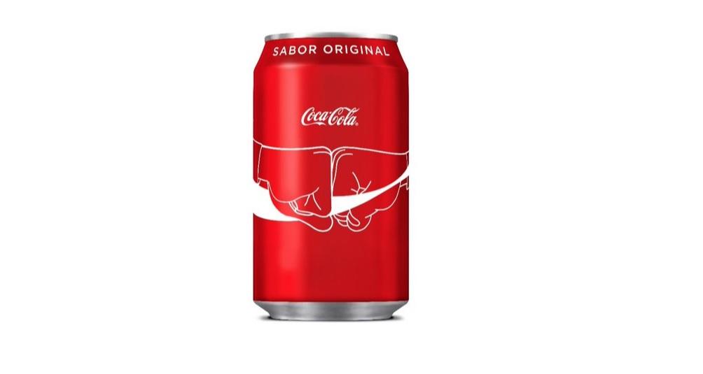 escaneado de latas de Coca-Cola