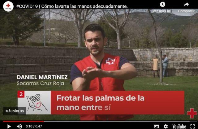 Campaña Cruz Roja coronavirus