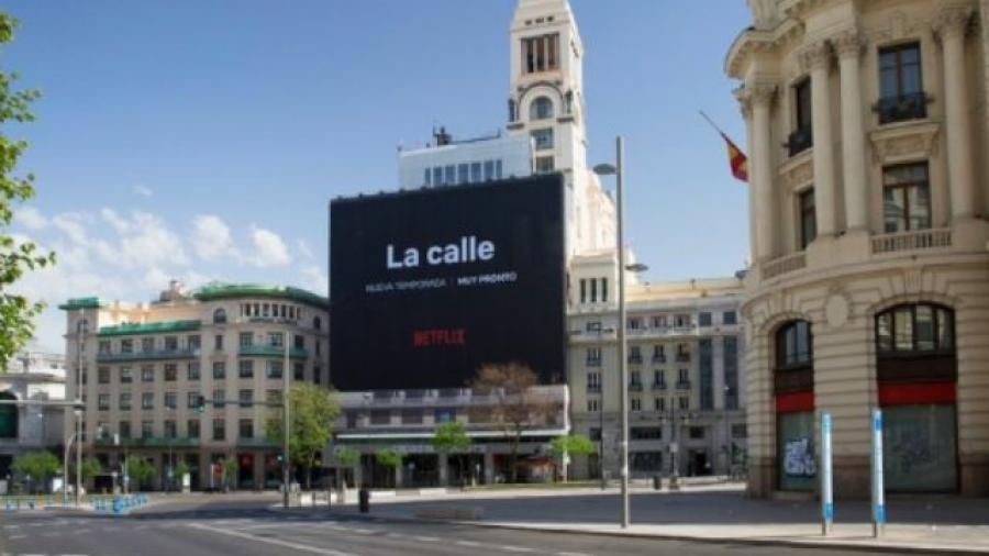 'La calle', nuevo anuncio de Netflix en Madrid para animar la desescalada