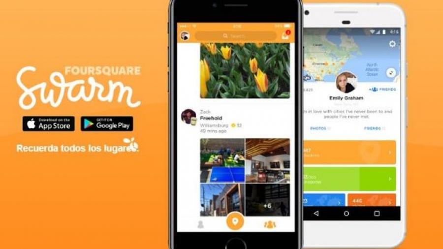Swarm, red social de Foursquare