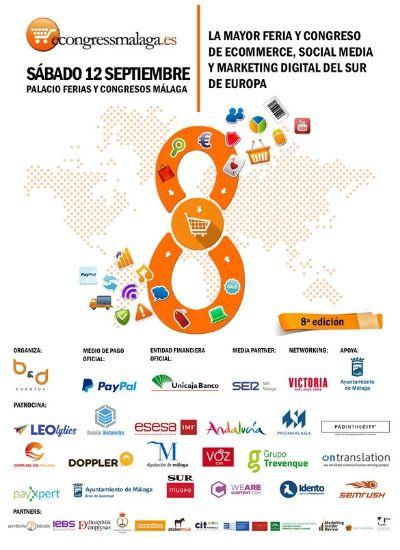cartel eCongress Málaga 2020