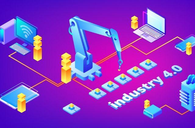 Ventajas de la industria 4.0. Vector de Negocios creado por vectorpouch - www.freepik.es