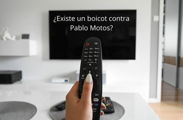 ¿existe un boicot contra Pablo Motos, presentador de El Hormiguero_