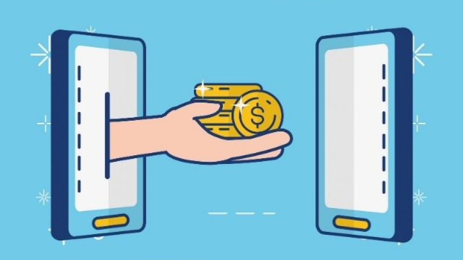 Bizum para pagar en MediaMarkt. Vector de Fondo creado por gstudioimagen - www.freepik.es