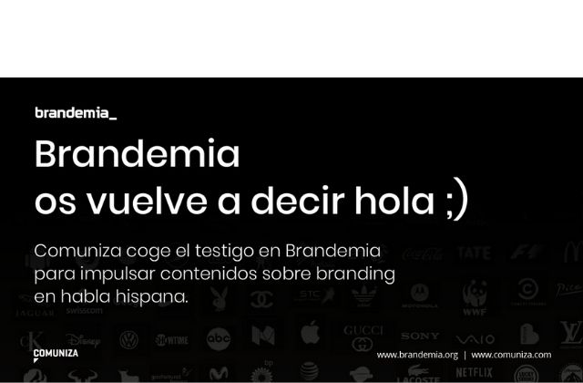 Comuniza integra Brandemia, blog de branding