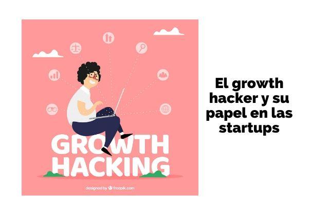 El growth hacker y su papel en las startups. Vector de Negocios creado por freepik - www.freepik.es