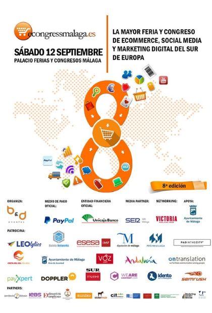 cartel del eCongress Málaga 2020 en el Fycma el 12 de septiembre