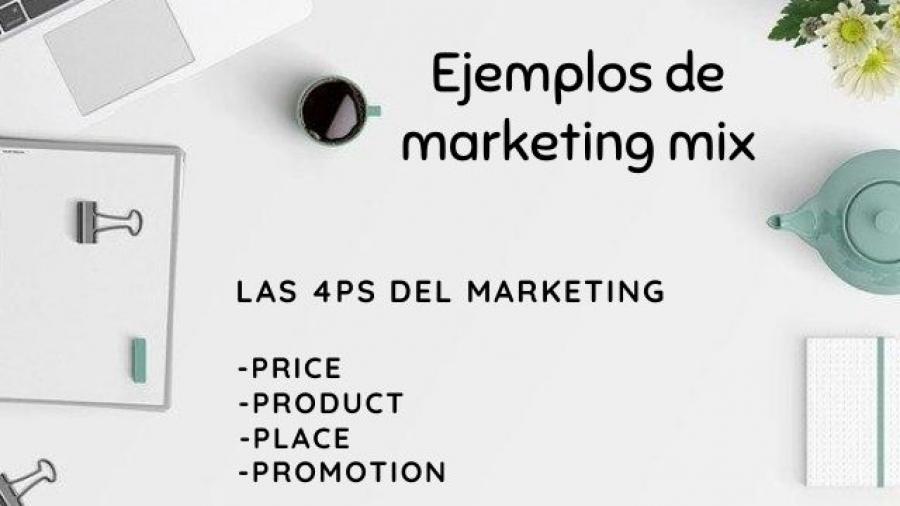 ejemplos de marketing mix