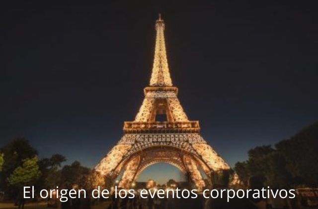 el origen de los eventos corporativos
