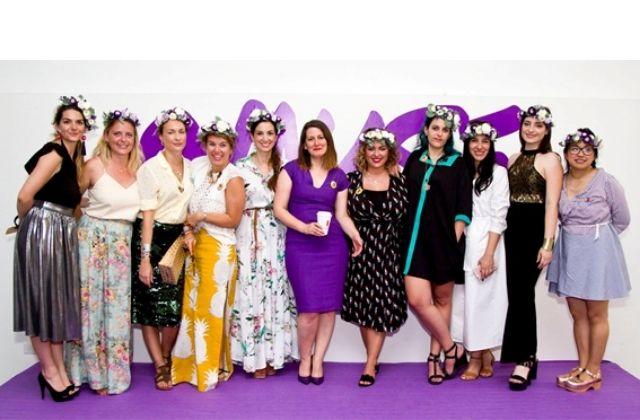 evento para mujeres '9 Muse' 2019. Fuente: Faro di Roma