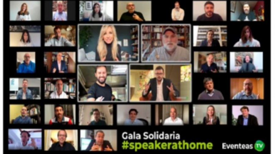 gala solidaria #speakerathome para World Central Kitchen