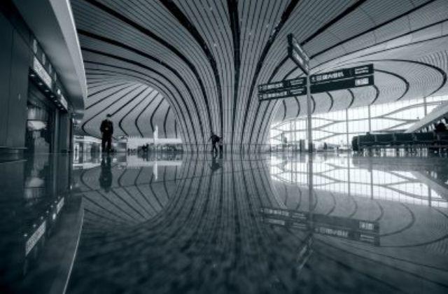 nuevas tecnologías en el aeropuerto Beijing