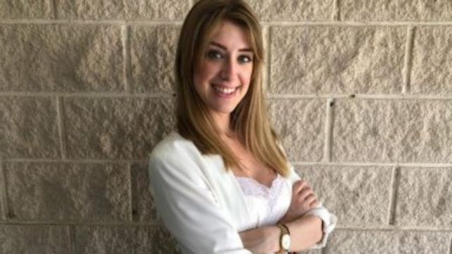 Alba Zahariu, responsable de eventos con centros de ESIC