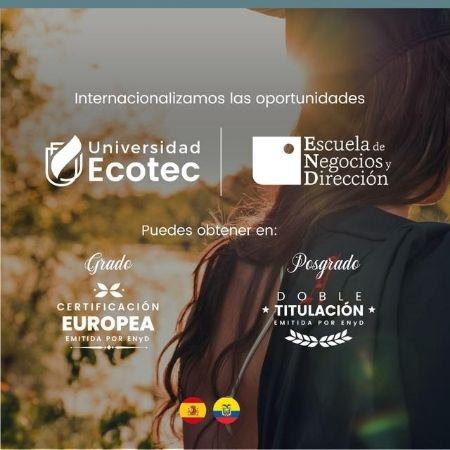 Alianza entre Escuela de Negocios y Dirección y ECOTEC Ecuador