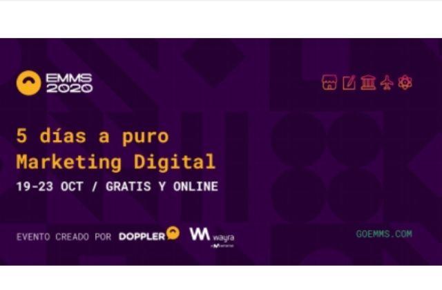 evento de marketing digital EMMS 2020 de Doppler