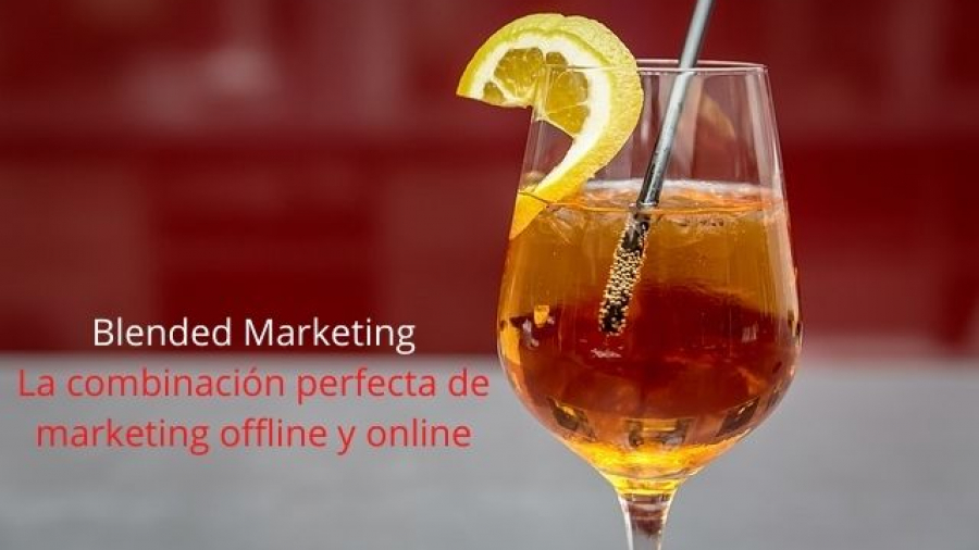 qué es el blended marketing