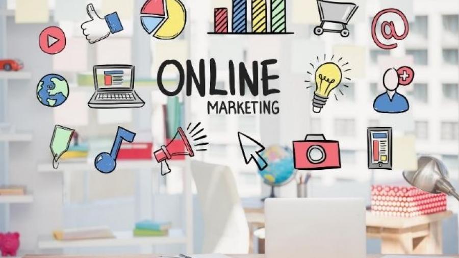 ventajas del marketing online para emprendedores. Foto de Fondo creado por creativeart - www.freepik.es