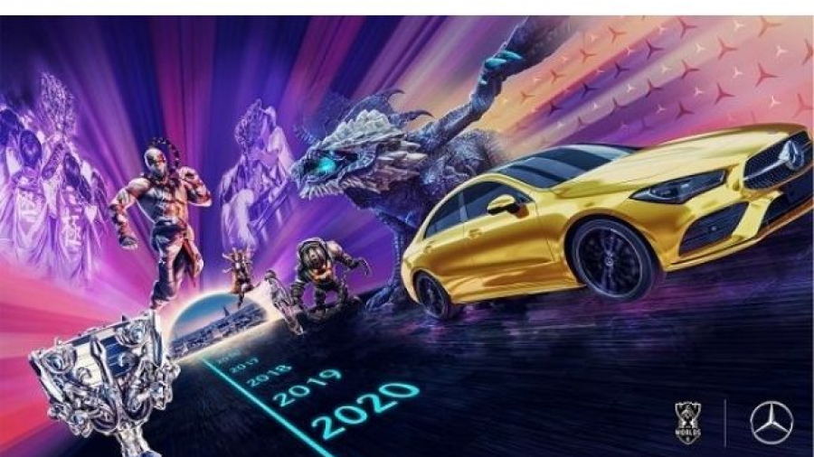 Mercedes-Benz patrocinador de los LOL eSports