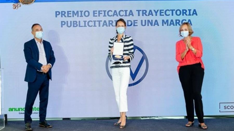 Volkswagen Premio Eficacia a la Trayectoria Publicitaria de una Marca