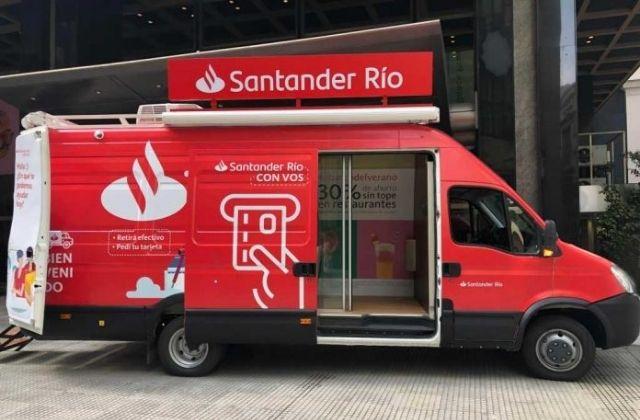sucursal móvil del Banco Santander