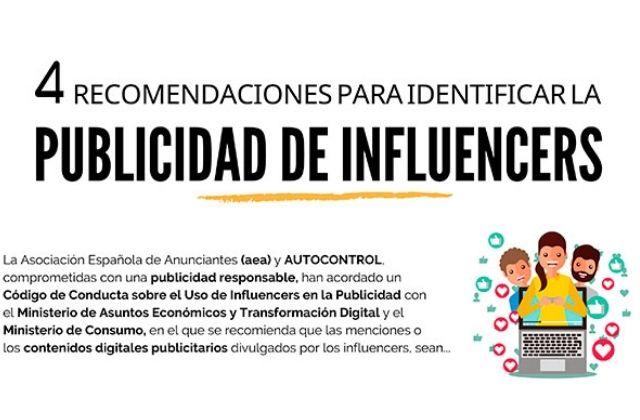 Código sobre el uso de influencers en la publicidad