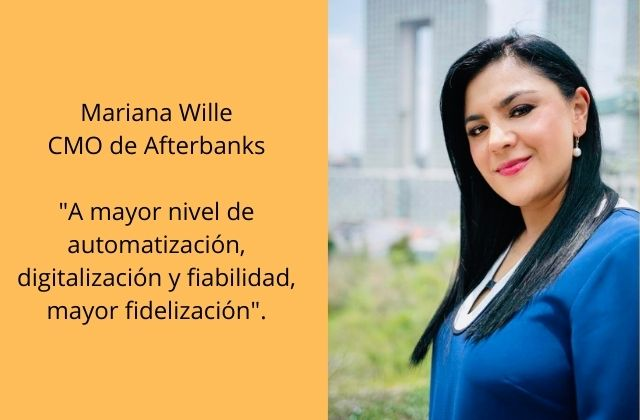 Mariana Wille, CMO de Afterbanks