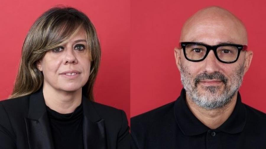 Marta Gutiérrez, Senior Vicepresident de Ogilvy España, Roberto Fara, CCO de Ogilvy España