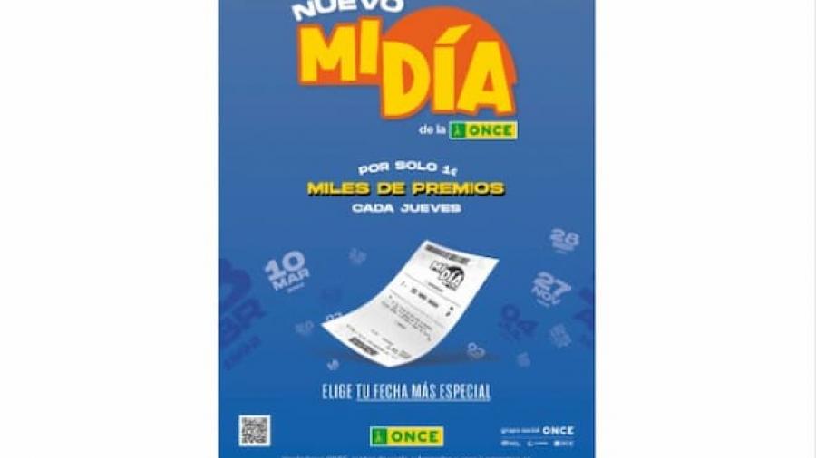 campaña de la nueva lotería 'Mi Día' de la ONCE