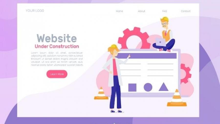 diseño web con Page Builders o constructores de sitios web