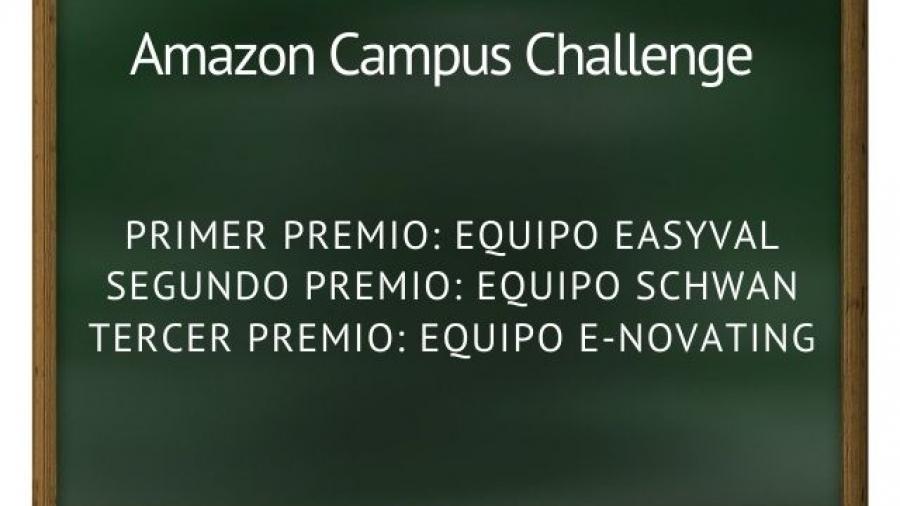 primera edición del concurso Amazon Campus Challenge