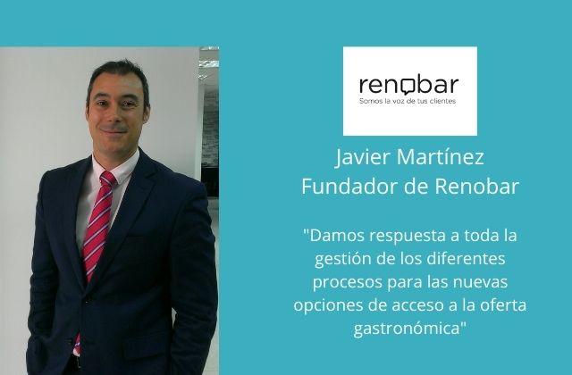 Javier Martínez, fundador y director de Renobar