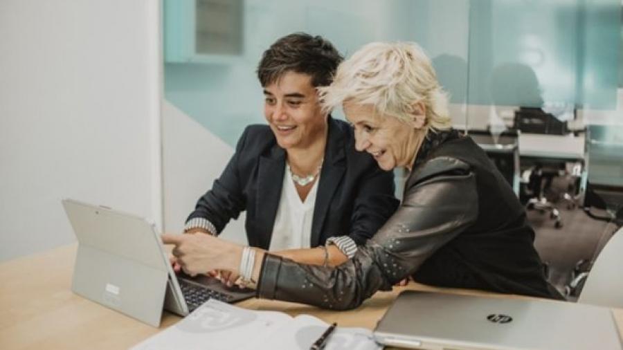 Núria Teuler y Sonia Duro, fundadoras de Leader Selling