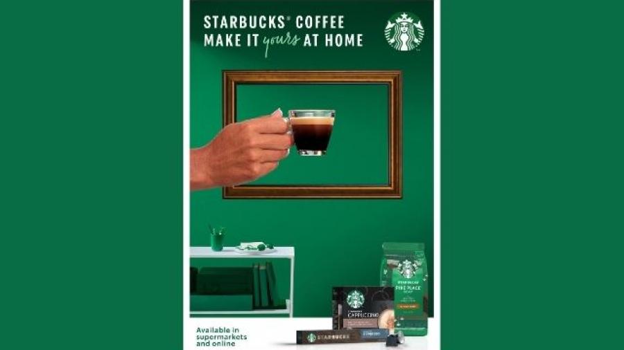 nueva campaña de Nestlé y Starbucks anima a tomar café en casa