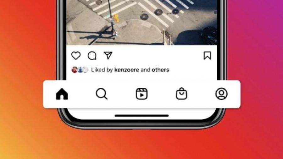 pestañas de Instagram Reels e Instagram Shopping