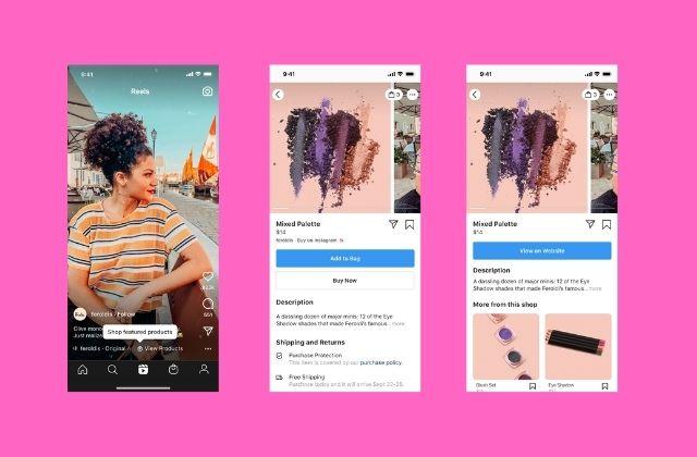 Instagram anuncia el lanzamiento de Instagram Shopping en Reels