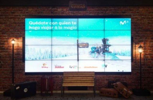 Movistar+ monta la Gran Estación de NavidadMovistar+ monta la Gran Estación de Navidad