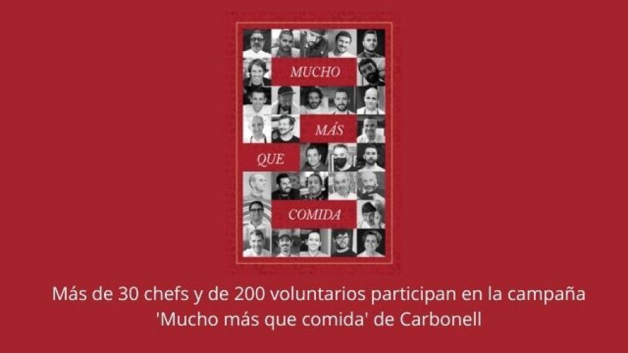 campaña solidaria navideña Mucho más que comida de Carbonell