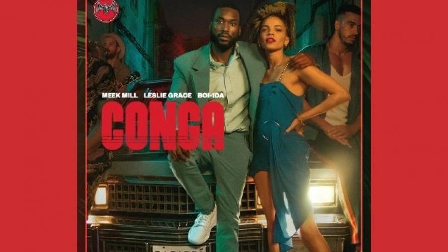 Bacardi presenta el single y videoclip Conga feat Meek Mill y Leslie Grace