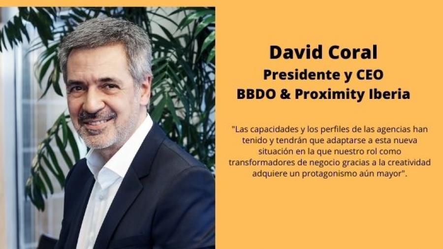 David Coral, presidente y CEO de BBDO & Proximity Iberia