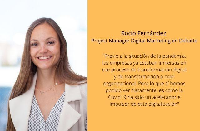 Rocío Fernández, Project Manager Digital Marketing en Deloitte