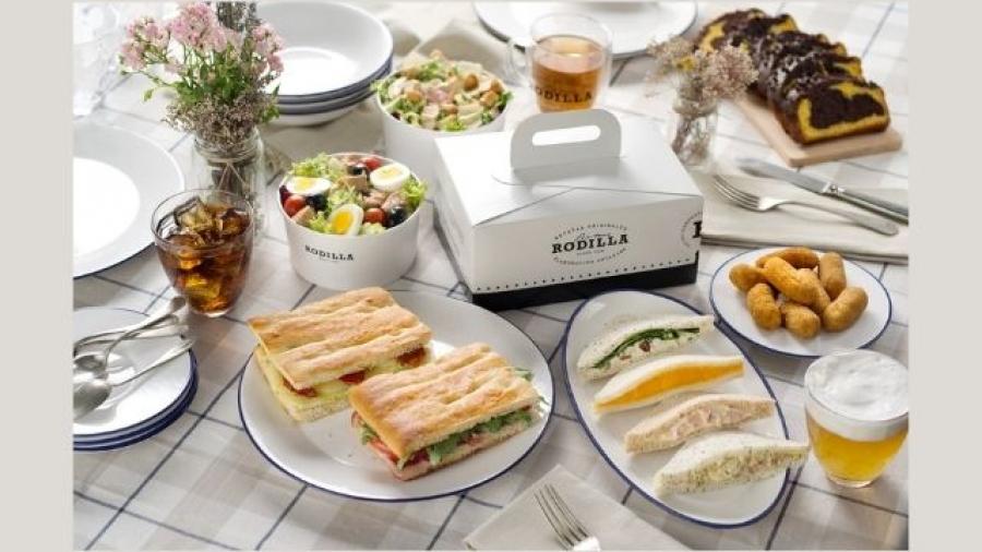 Rodilla y Just Eat acuerdan reparto a domicilio en Madrid, Valencia y Barcelona