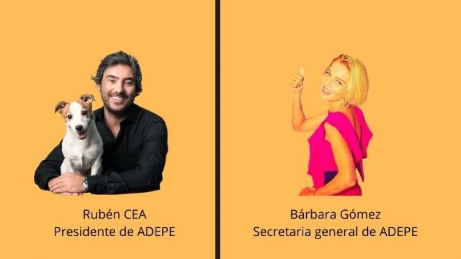 Rubén Cea y Bárbara Gómez (ADEPE)