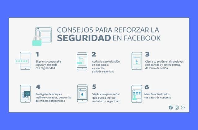 6 consejos para reforzar la seguridad en Facebook