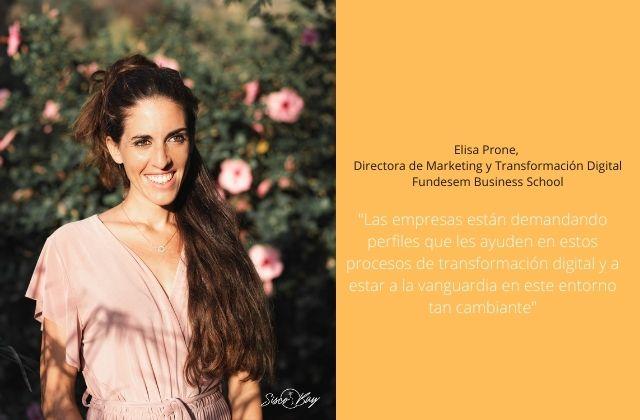 Elisa Prone, Directora de Marketing y Transformación Digital de Fundesem Business School