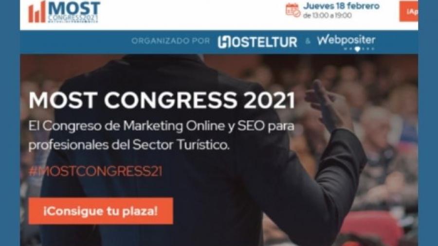 Most Congress 2021, marketing online y SEO para sector turístico